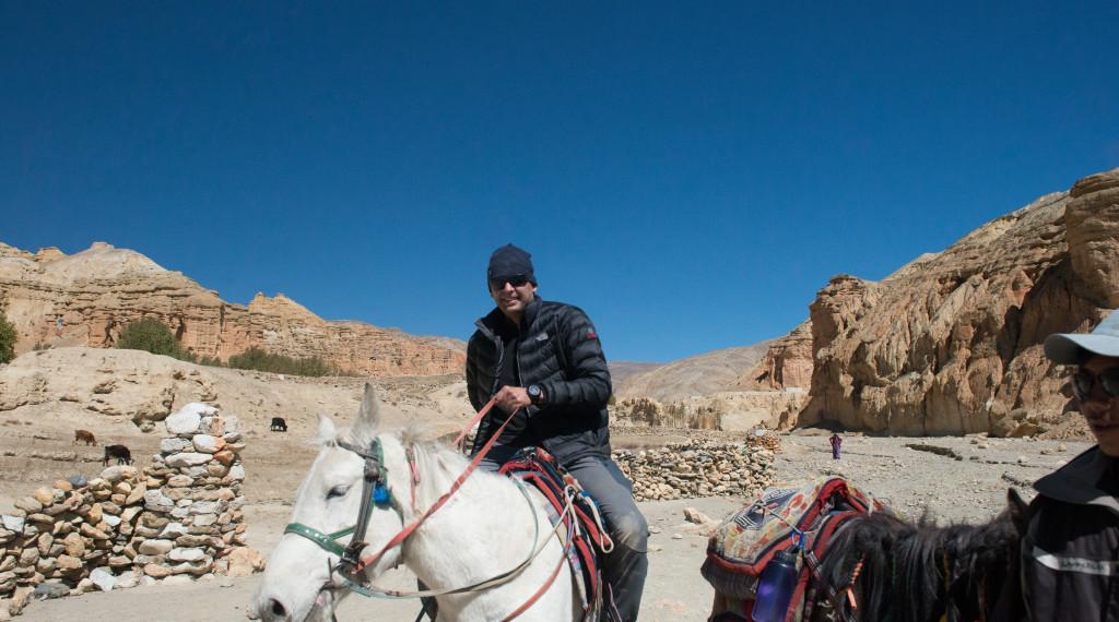 Upper Mustang Valley Nepal-Horseback