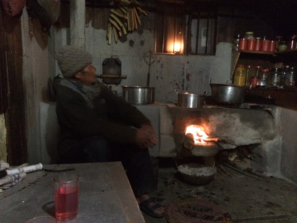 Guesthouse in Tumling, Nepal where I was served a pink version of raksi made with rhododendron leaves