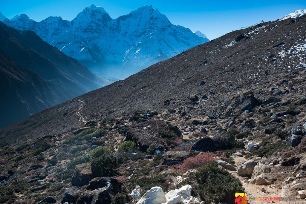 The Gokyo Valley lies right next door to the famous Everest Base Camp Trek but with much less trail traffic