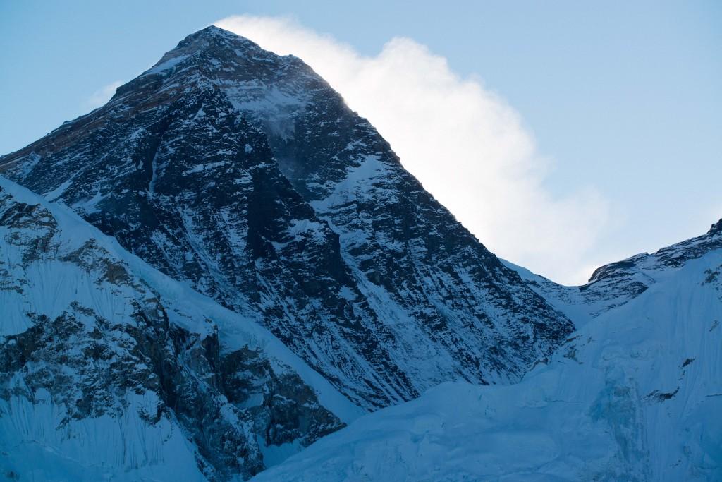 Mt.Everest(Qomolungma)8848m, view from Kala Patthar-5545m in Nepal's Khumbu Valley region