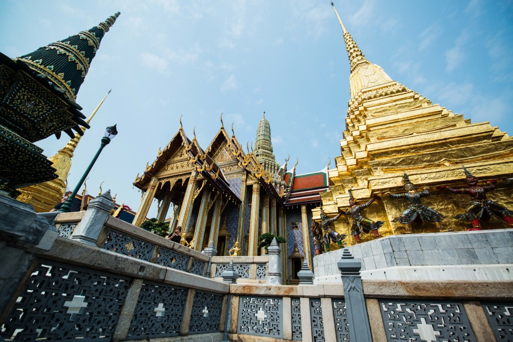 Once the home to the kings of Siam and Thailand The Grand Palace is the number one tourist attraction in Bangkok