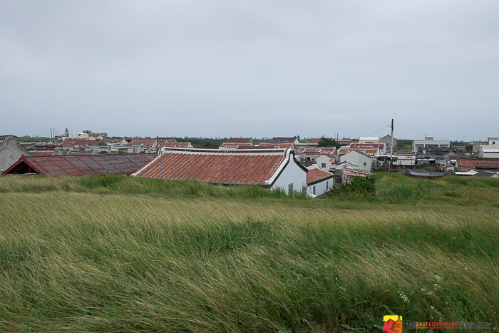 View of some of the Fujian rooftops - Erkan Old Residences Penghu