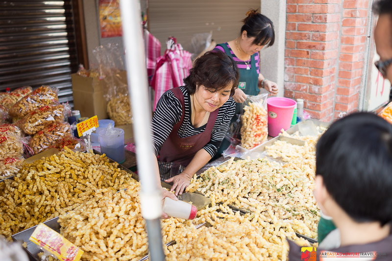 Bulk Snacks Sold On Dihua Street For Chinese New Year