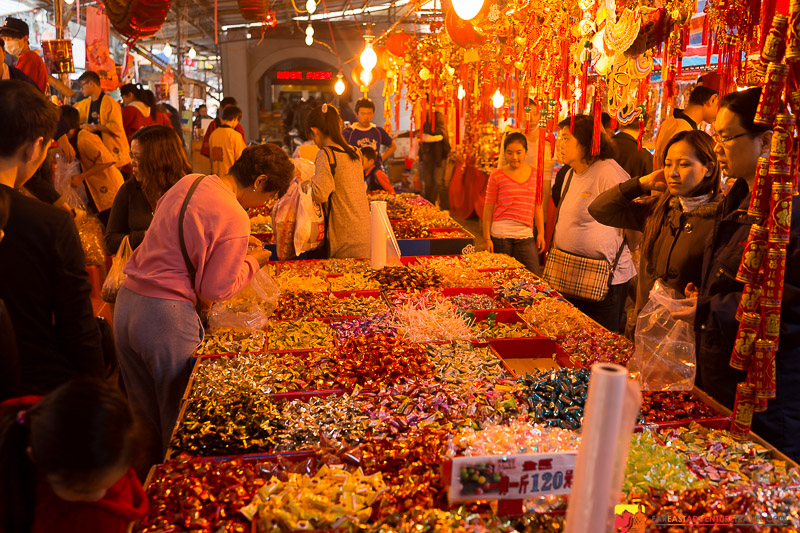 Buying Bulk Candy For Chinese New Year On Dihua Street
