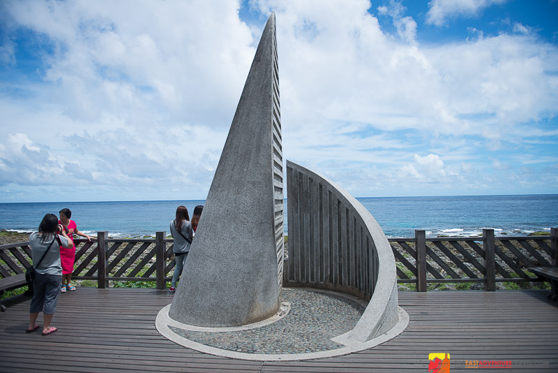 Monument At Cape Eluanbi -The Extreme Southern Point Of Taiwan