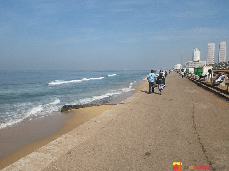 Sri Lanka – Once A Danger Zone Now Enjoys More Peaceful Times - Galle Face Green, Colombo