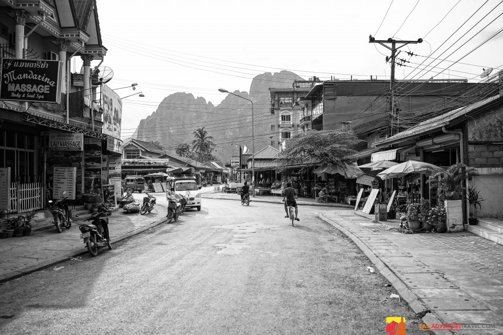 Vang Vieng And The Beautiful Karst Backdrop