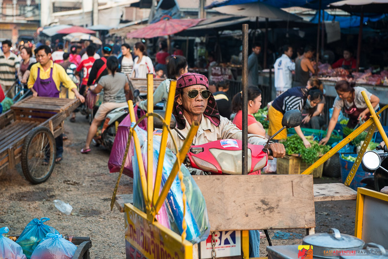 Vientiane's Thong Khan Kham Market One Week Before The Devastating Fire