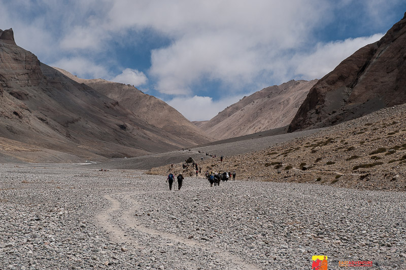 On the kora of Mt. Kailash - Tibet