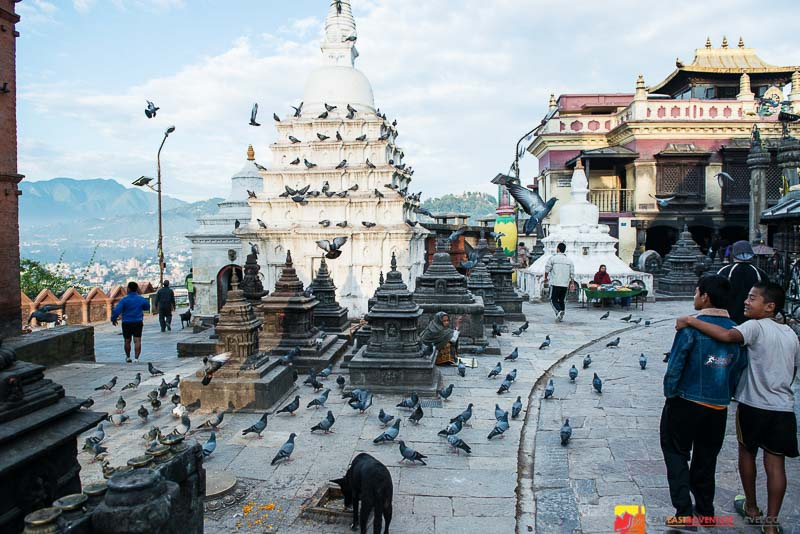 "Swayambhunath-The Monkey Temple-a ""must see"" as part of a visit to Kathmandu, Nepal"