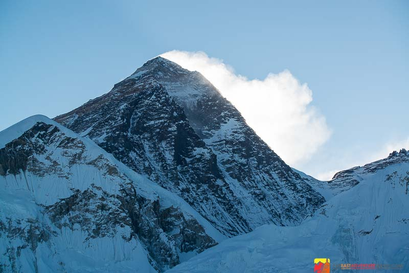 Mt. Everest-the highest mountain in the world seen from Kala Patthar, Nepal