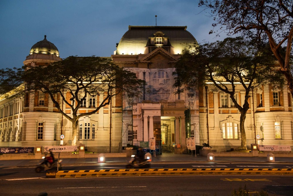 National Museum of Taiwanese Literature-Tainan-built in 1916 it's a beautiful example of Japanese Colonial Architecture
