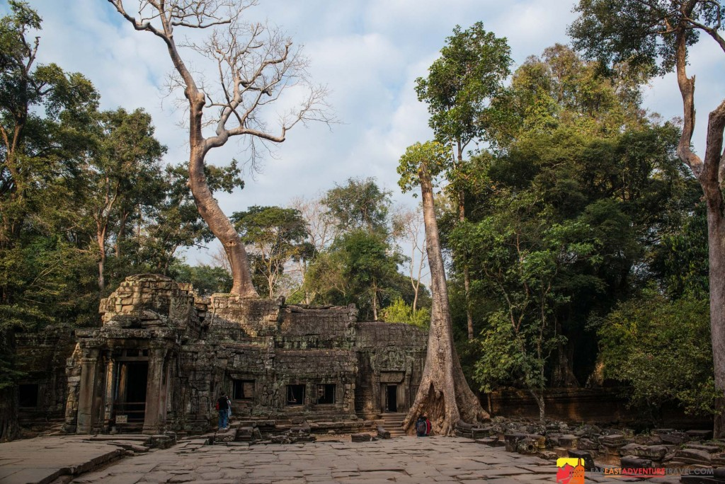 "2.3 million people visited the Angkor ruins of Cambodia in 2014-The Ta Prohm or ""Tomb Raider"" temple was one of the most visited sites"