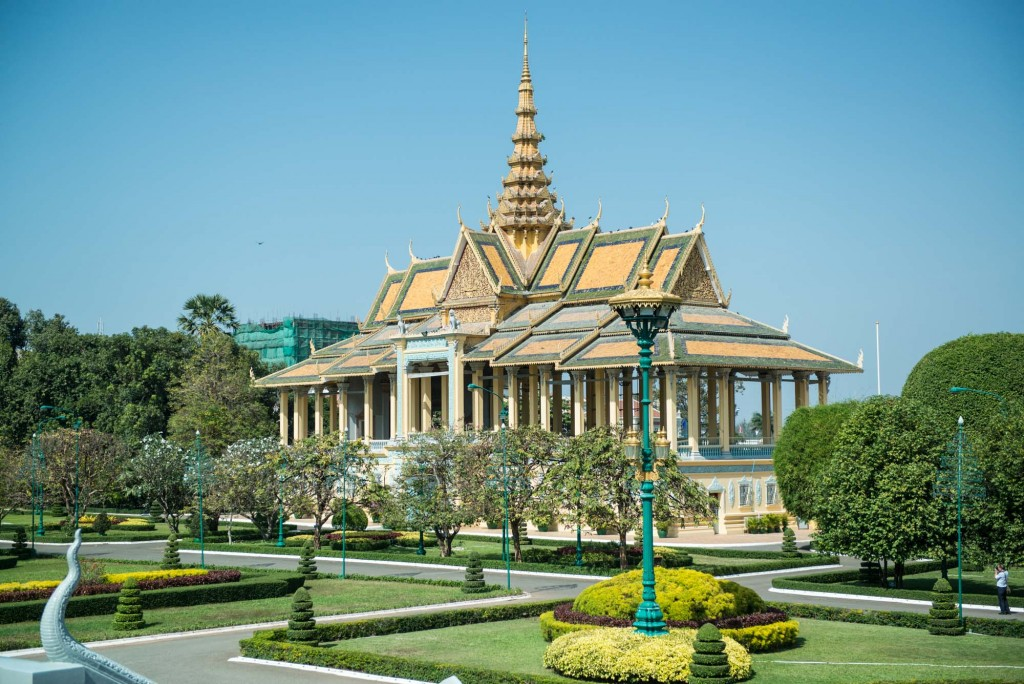 The Jade Palace in the Royal Palace complex is one of Phnom Penh, Cambodia's top sites to visit