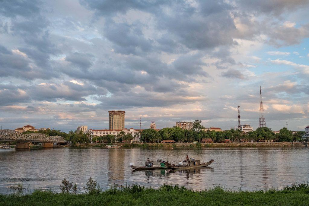 The Perfume River-Hue, Vietnam
